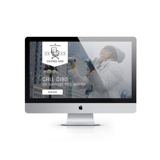 Hiltons of Chicago Dibs Landing Page
