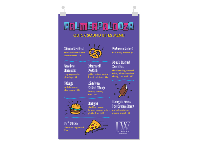 Lockwood Themed Menu