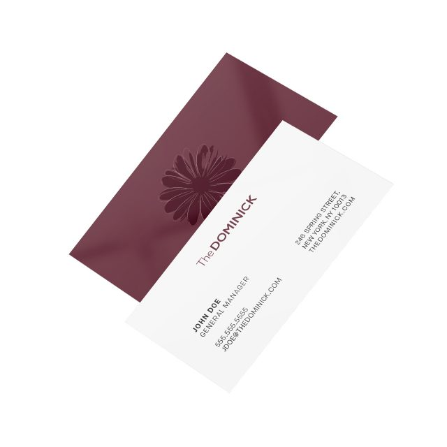 Dominick Business Card
