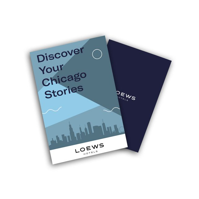 Loews Chicago Urban Explorer Booklet
