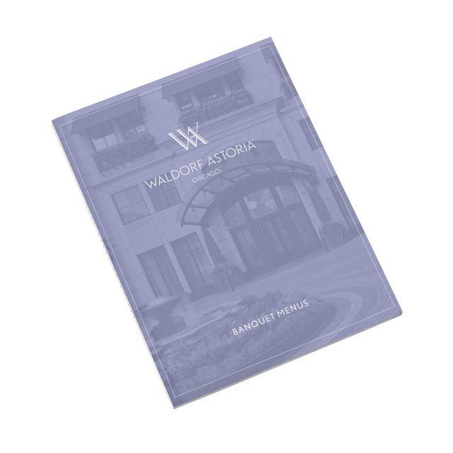 Waldorf Astoria Banquet Menus
